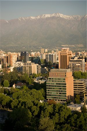 Overview of Santiago, Chile Stock Photo - Rights-Managed, Code: 700-02594247