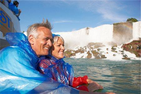 Couple at Niagara Falls, Ontario, Canada Stock Photo - Rights-Managed, Code: 700-02593646