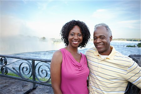 Couple at Niagara Falls, Ontario, Canada Stock Photo - Rights-Managed, Code: 700-02593657