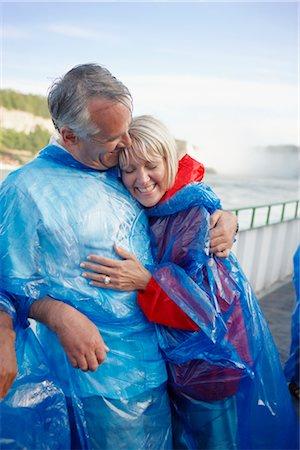Couple at Niagara Falls, Ontario, Canada Stock Photo - Rights-Managed, Code: 700-02593653