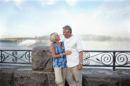 Couple at Niagara Falls, Ontario, Canada Stock Photo - Rights-Managed, Code: 700-02593660