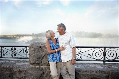 Couple at Niagara Falls, Ontario, Canada Stock Photo - Rights-Managed, Code: 700-02593660