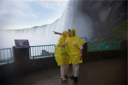 Couple at Niagara Falls, Ontario, Canada Stock Photo - Rights-Managed, Code: 700-02637184