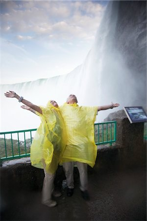 Couple at Niagara Falls, Ontario, Canada Stock Photo - Rights-Managed, Code: 700-02637186