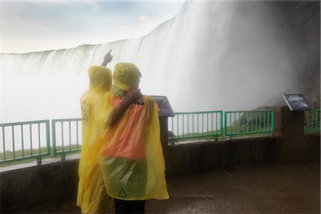 Couple at Niagara Falls, Ontario, Canada Stock Photo - Rights-Managed, Code: 700-02637181