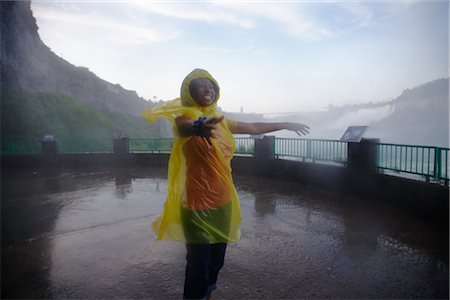 Woman at Niagara Falls, Ontario, Canada Stock Photo - Rights-Managed, Code: 700-02637182