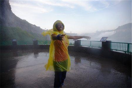 Woman at Niagara Falls, Ontario, Canada Stock Photo - Rights-Managed, Code: 700-02637182