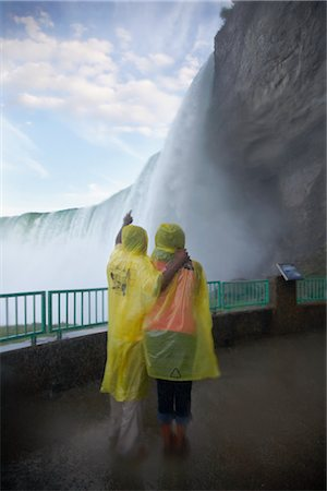 Couple at Niagara Falls, Ontario, Canada Stock Photo - Rights-Managed, Code: 700-02637183
