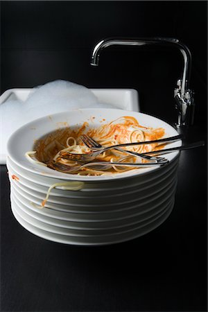 Dirty Plates Stock Photo - Rights-Managed, Code: 700-02637503