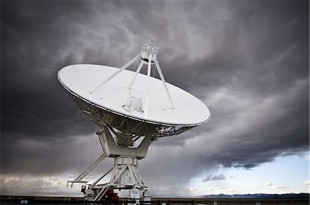 radio telescope - VLA Radio Telescopes, Socorro, New Mexico, USA Stock Photo - Rights-Managed, Code: 700-02638174