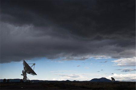 radio telescope - VLA Radio Telescopes, Socorro, New Mexico, USA Stock Photo - Rights-Managed, Code: 700-02638175