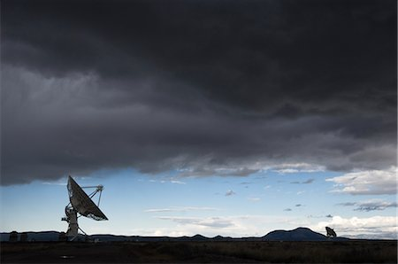 radio telescope - VLA Radio Telescopes, Socorro, New Mexico, USA Stock Photo - Rights-Managed, Code: 700-02638175