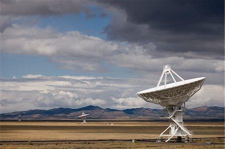 radio telescope - VLA Radio Telescopes, Socorro, New Mexico, USA Stock Photo - Rights-Managed, Code: 700-02638170