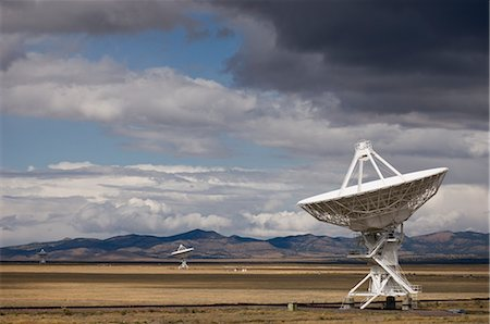 radio telescope - VLA Radio Telescopes, Socorro, New Mexico, USA Stock Photo - Rights-Managed, Code: 700-02638170