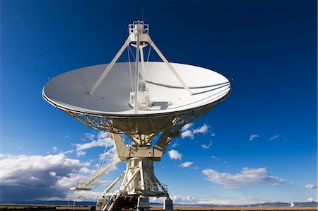 radio telescope - VLA Radio Telescope, Socorro, New Mexico, USA Stock Photo - Rights-Managed, Code: 700-02638171