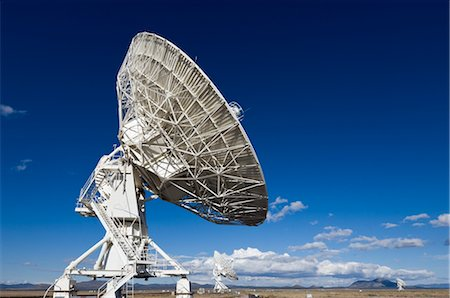 radio telescope - VLA Radio Telescopes, Socorro, New Mexico, USA Stock Photo - Rights-Managed, Code: 700-02638172