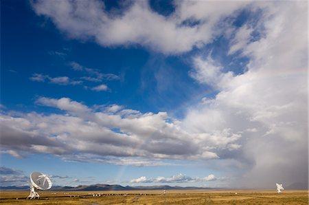radio telescope - VLA Radio Telescope, Socorro, New Mexico, USA Stock Photo - Rights-Managed, Code: 700-02638173