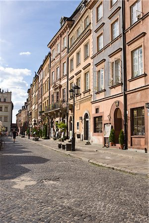 Old Town Market Place, Old Town, Warsaw, Poland Stock Photo - Rights-Managed, Code: 700-02633766
