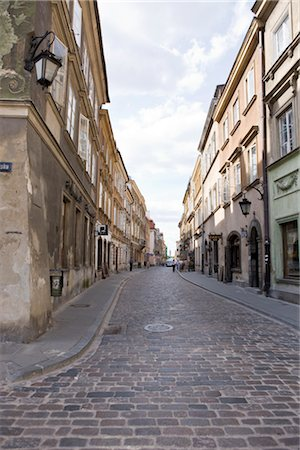 Old Town, Warsaw, Poland Stock Photo - Rights-Managed, Code: 700-02633763