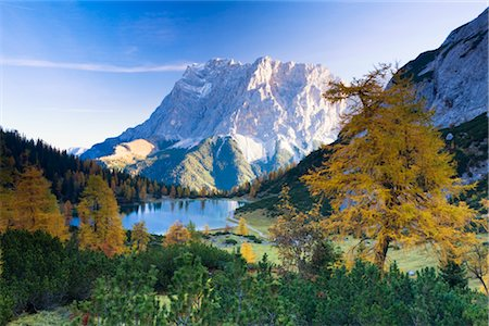 Lake Seebensee, Zugspitze, Tyrol, Austria Stock Photo - Rights-Managed, Code: 700-02645769
