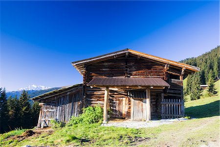 Farmhouse, Zillertal Alps, Zillertal, Tyrol, Austria Stock Photo - Rights-Managed, Code: 700-02645803