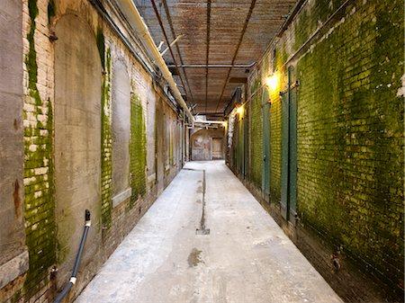 Dank Hallway, Alcatraz, San Francisco, California, USA Stock Photo - Rights-Managed, Code: 700-02646071