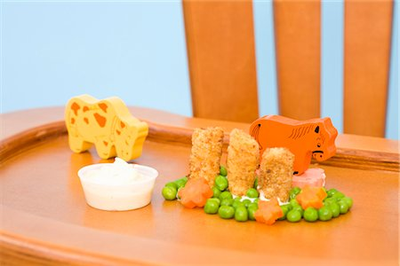 Food and Toys on Highchair Tray Stock Photo - Rights-Managed, Code: 700-02669898