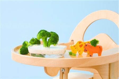 Food and Toys on Highchair Tray Stock Photo - Rights-Managed, Code: 700-02669899