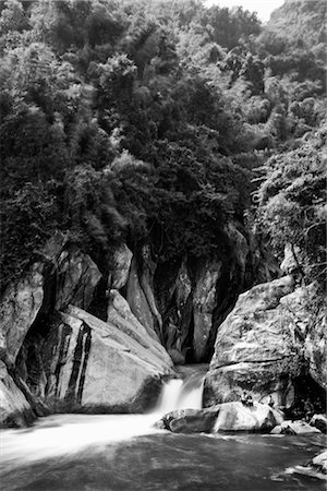 Waterfall in Sa Pa, Vietnam Stock Photo - Rights-Managed, Code: 700-02670026