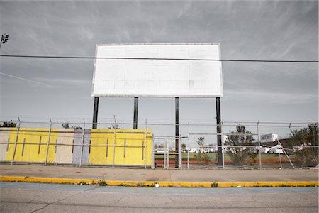 Blank Billboard, Galveston, Texas, USA Stock Photo - Rights-Managed, Code: 700-02670950