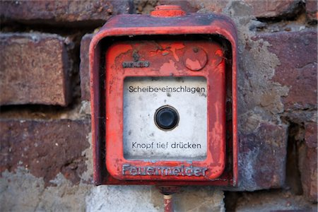 Fire Alarm, Germany Stock Photo - Rights-Managed, Code: 700-02671085