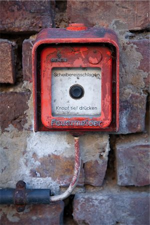 Fire Alarm, Germany Stock Photo - Rights-Managed, Code: 700-02671086