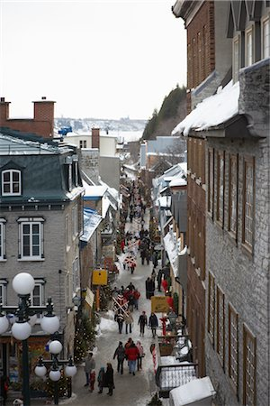 Rue Petit Champlain, Lower Town, Quebec City, Quebec, Canada Stock Photo - Rights-Managed, Code: 700-02671546
