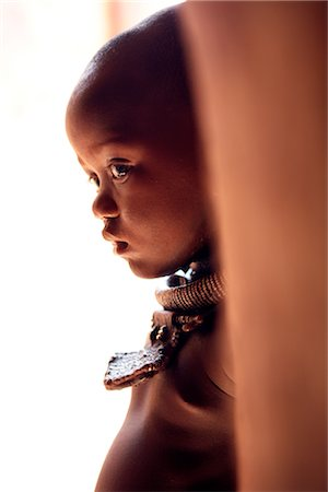 Himba Girl, Opuwo, Namibia Stock Photo - Rights-Managed, Code: 700-02694016