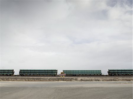 david zimmerman - Flatbed Freight Train, Gallup, New Mexico, USA Stock Photo - Rights-Managed, Code: 700-02694068