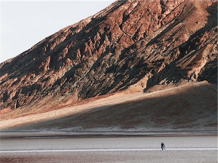 david zimmerman - People Walking in Desert, Death Valley, California, USA Stock Photo - Rights-Managed, Code: 700-02694084