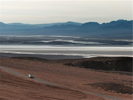 david zimmerman - Car on Desert Road, Death Valley, California, USA Stock Photo - Rights-Managed, Code: 700-02694085