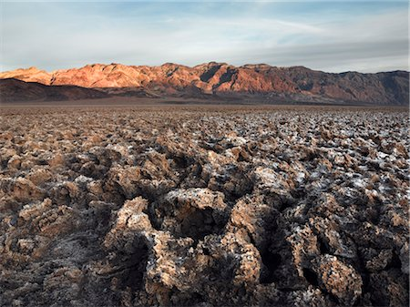 david zimmerman - Crusty Salt Coated Landscape at Death Valley, California, USA Stock Photo - Rights-Managed, Code: 700-02694088