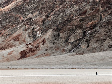 david zimmerman - People Walking in Desert, Death Valley, California, USA Stock Photo - Rights-Managed, Code: 700-02694083