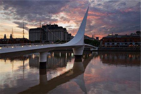 Puente De La Mujer, Puerto Madero, Buenos Aires, Argentina Stock Photo - Rights-Managed, Code: 700-02694394