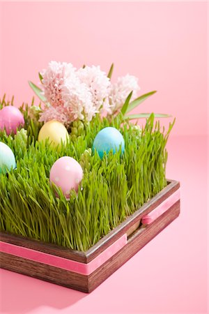 Easter Eggs and Hyacinths Stock Photo - Rights-Managed, Code: 700-02694514