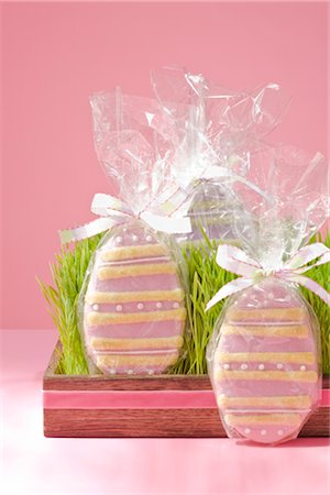 Easter Egg Cookies Stock Photo - Rights-Managed, Code: 700-02694669