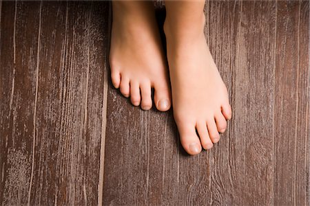 Close-up of Woman's Barefeet Stock Photo - Rights-Managed, Code: 700-02693991