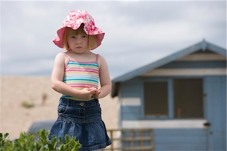 Portrait of Girl at Beach Stock Photo - Rights-Managed, Code: 700-02700320