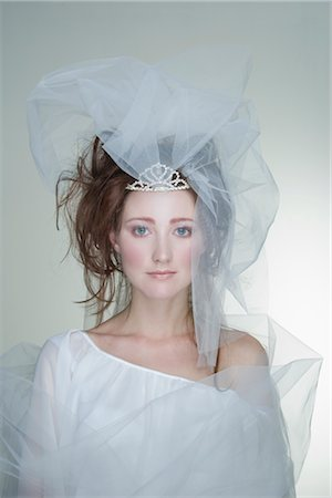 Portrait of Bride Stock Photo - Rights-Managed, Code: 700-02701008