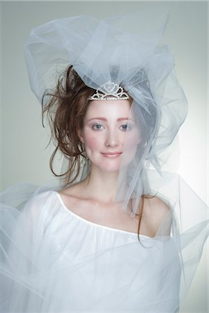 Portrait of Bride Stock Photo - Rights-Managed, Code: 700-02701009