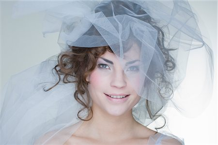 Portrait of Bride Stock Photo - Rights-Managed, Code: 700-02701013