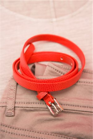Red Belt Stock Photo - Rights-Managed, Code: 700-02756412