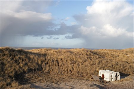 Beach Hut, North Sea, Schleswig-Holstein, Germany Stock Photo - Rights-Managed, Code: 700-02756767