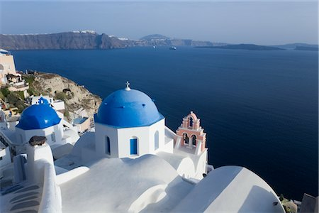 Church, Oia, Santorini, Greece Stock Photo - Rights-Managed, Code: 700-02756797